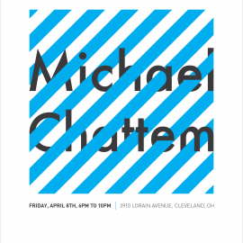 Coming Up! Gallery Opening: Michael Chattem